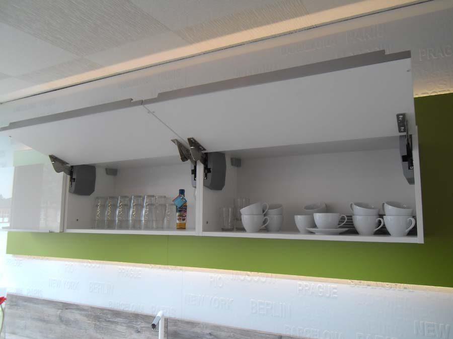 Küche 1 - Klapphängeschränke