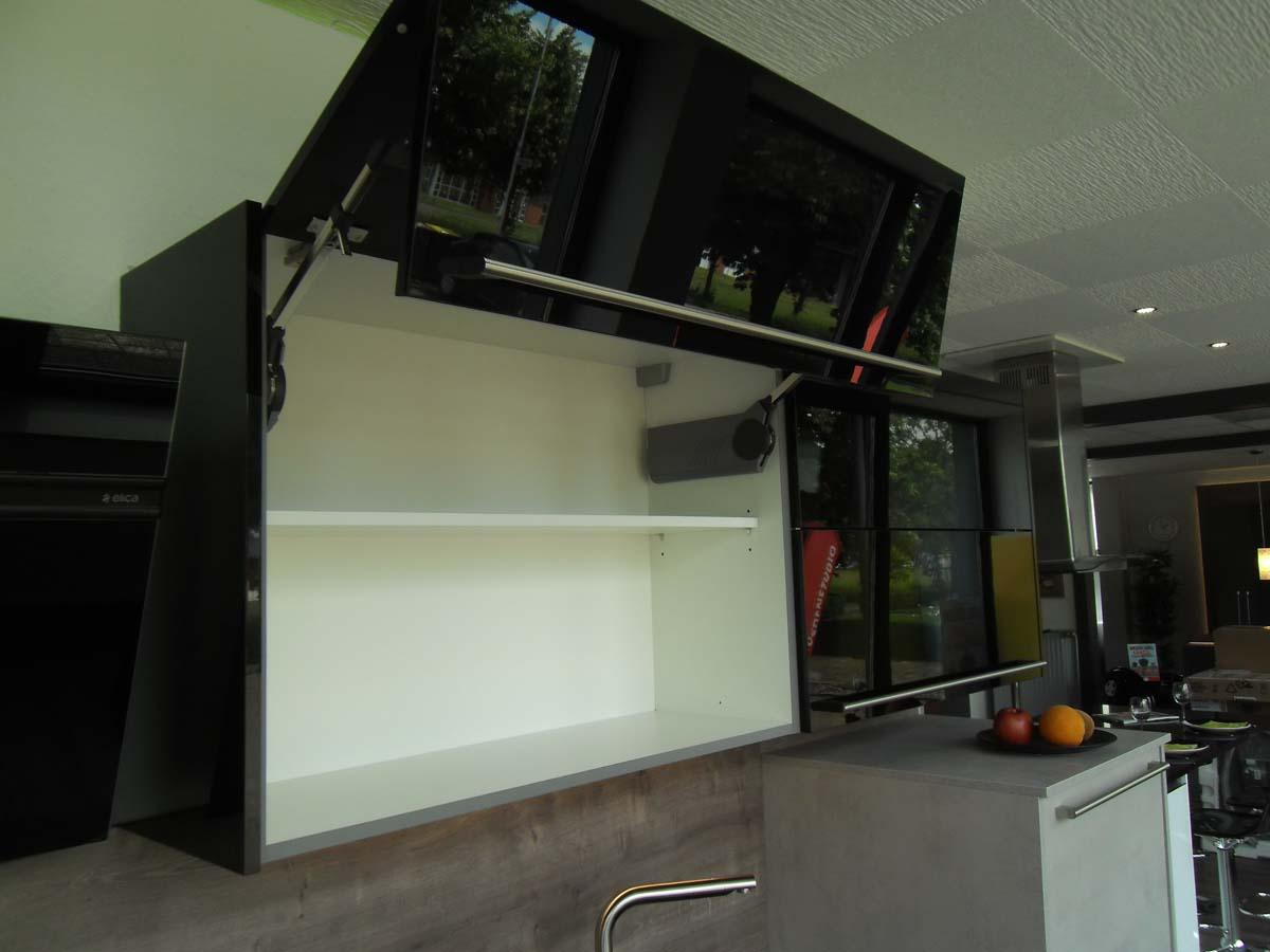 Küche 4 - Flatklappen Oberschrank