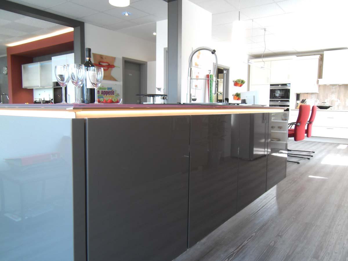 unsere ausstellung - küche life style - Lichtband Küche