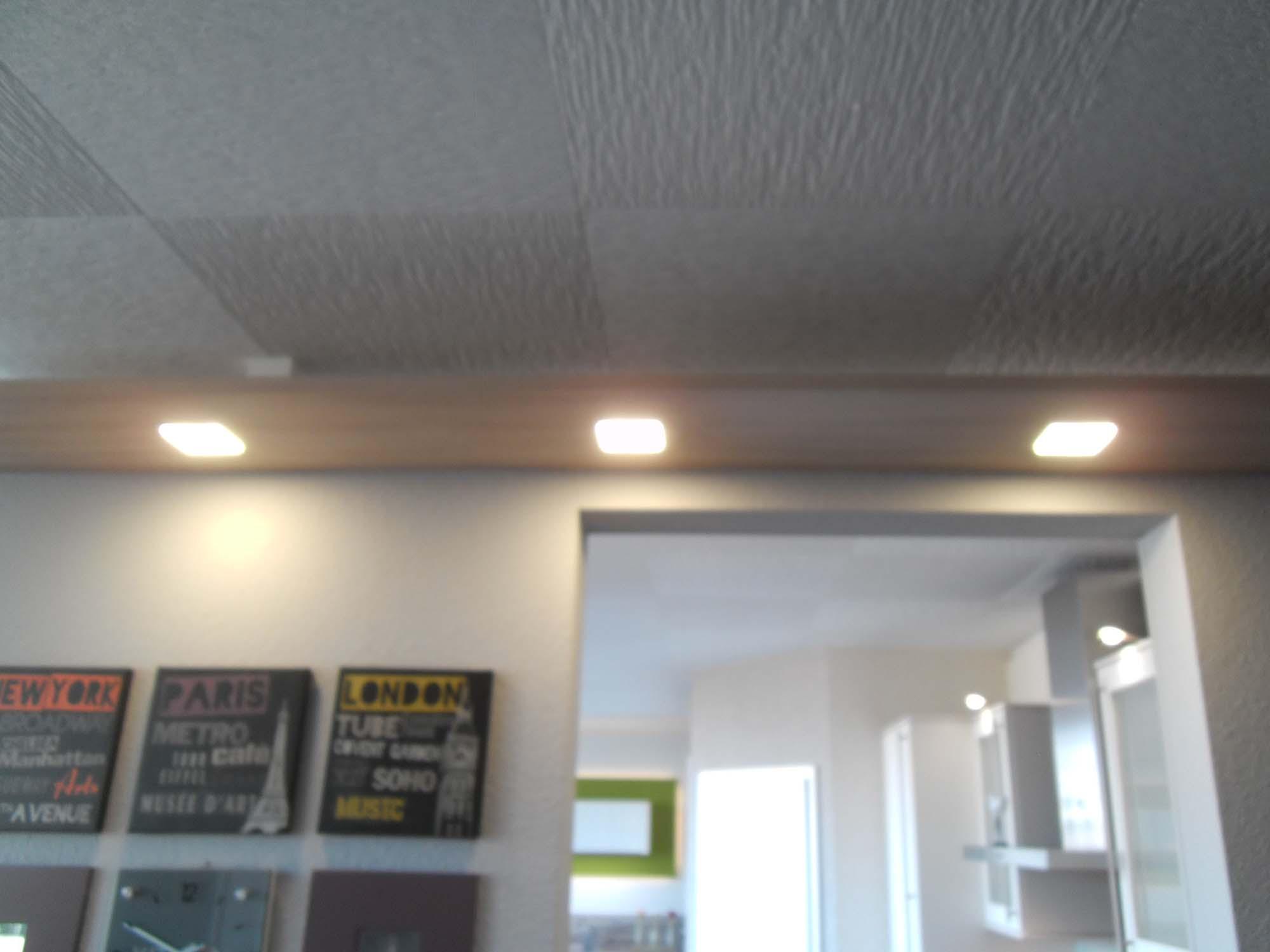 Baldachinboden mit LED-Beleuchtung
