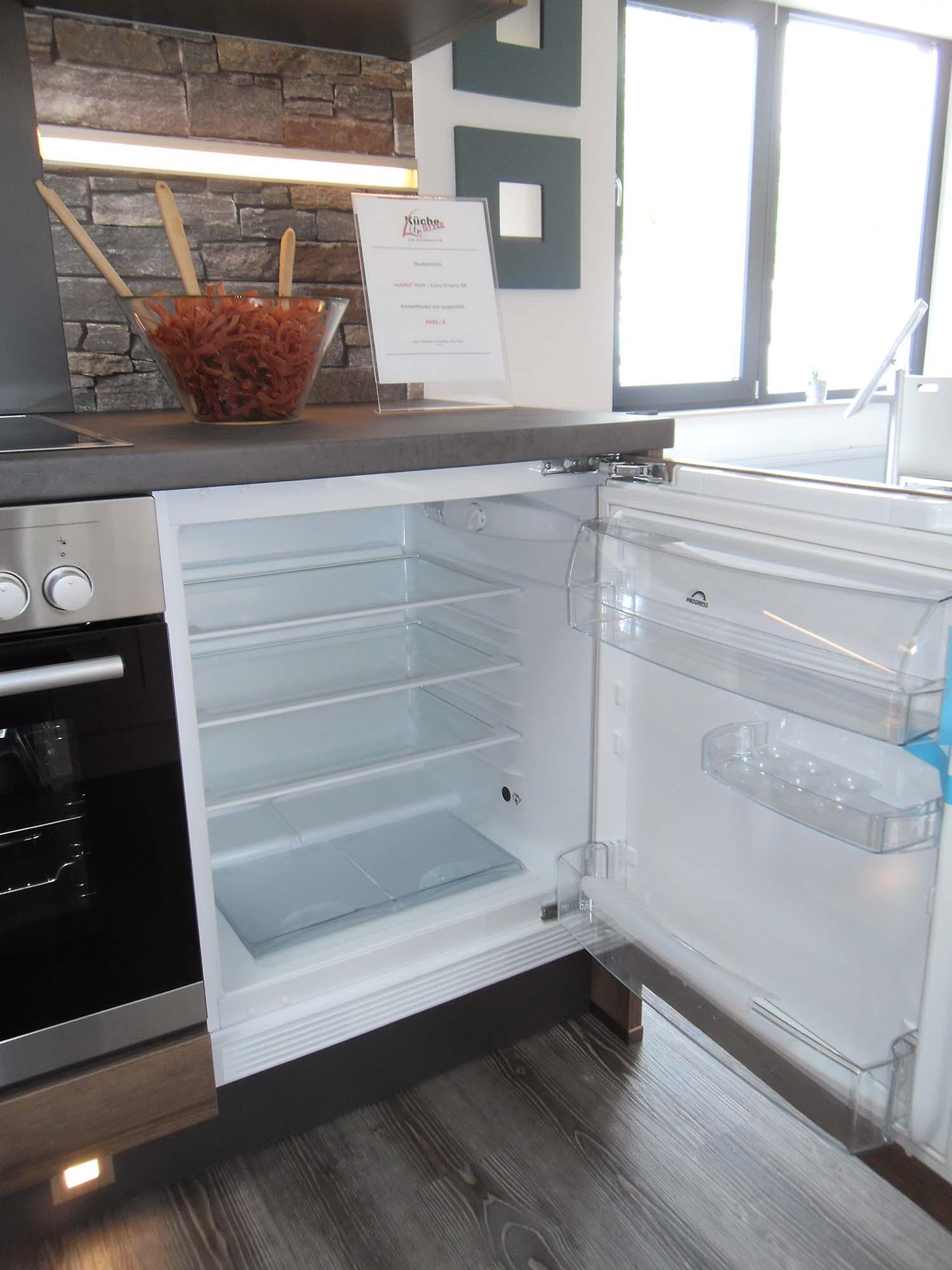 Unterbaukühlschrank zur Planung unterhalb der Arbeitsplatte