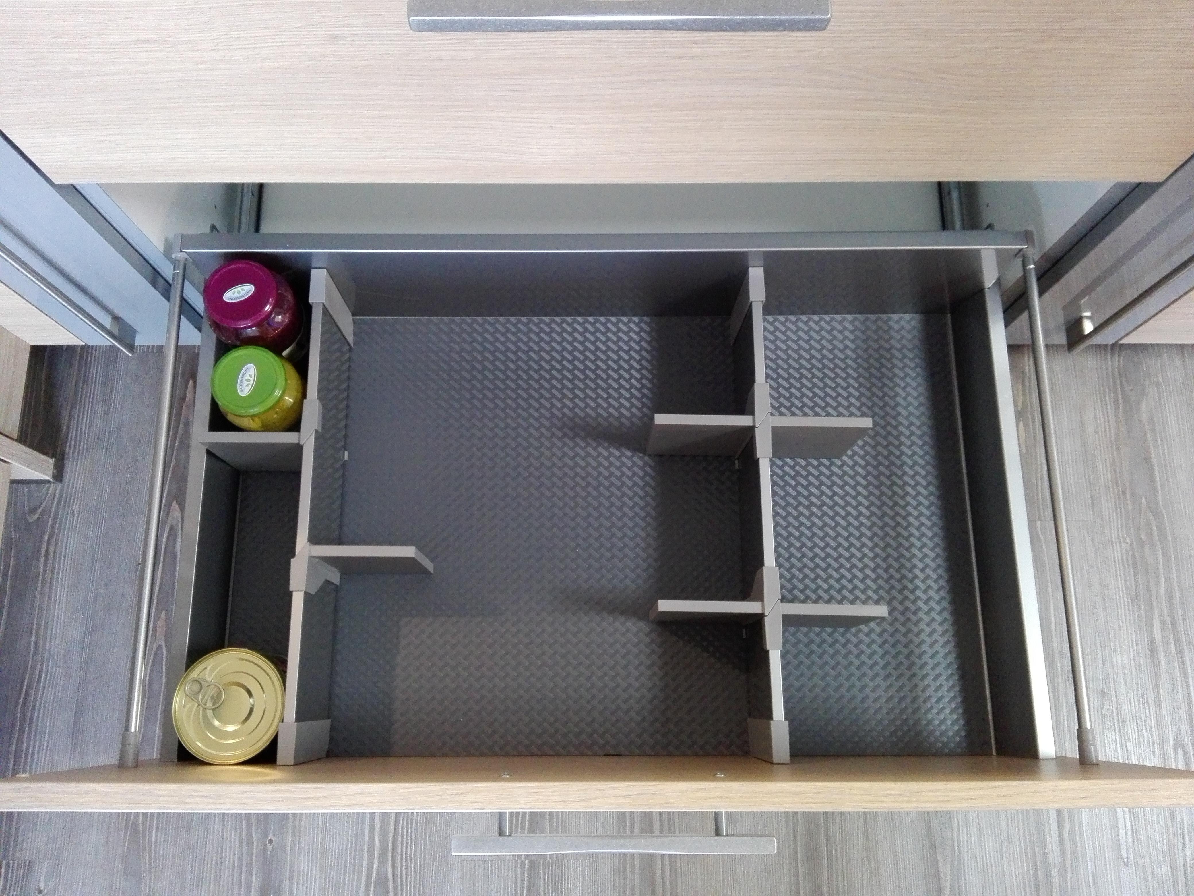 Küche 3 - Auszugsorganisation
