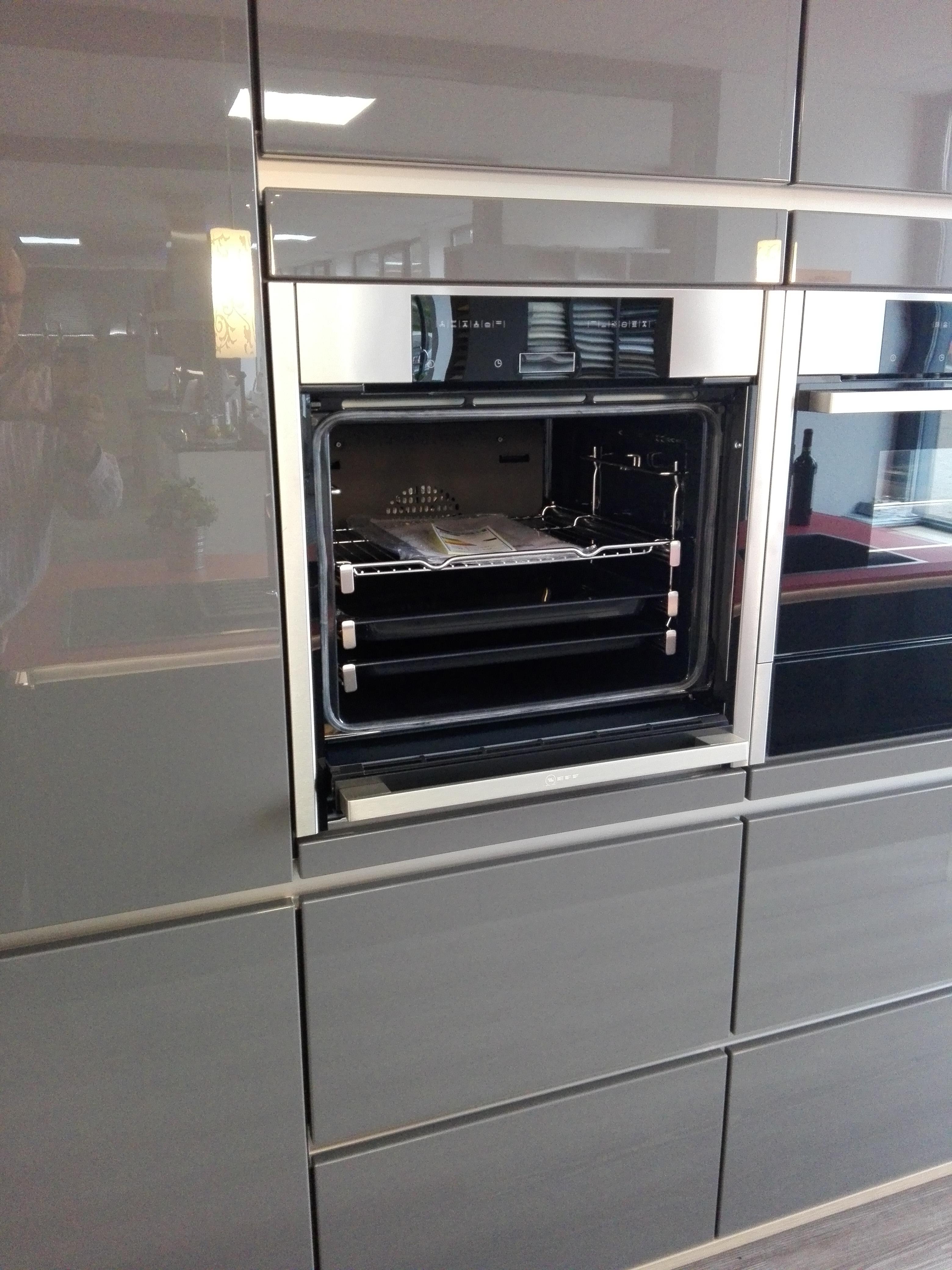 Küche 6 - NEFF Backofen mit Slide & Hide ... die versenkbare Backofentüre