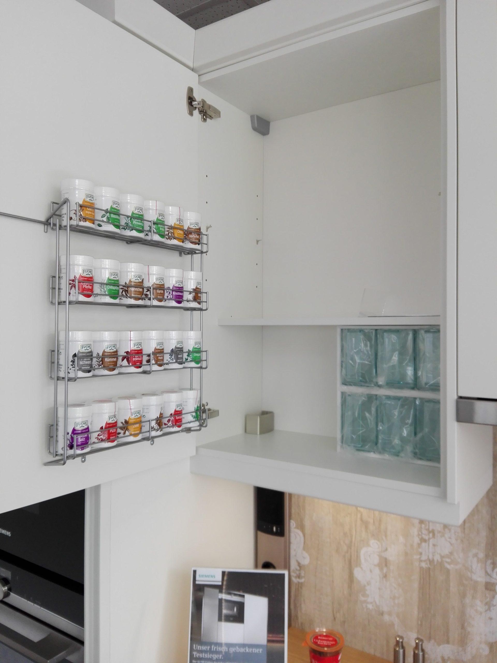 Küche 17 - Gewürzhängeschrank inkl. Schütten - Küche Life Style